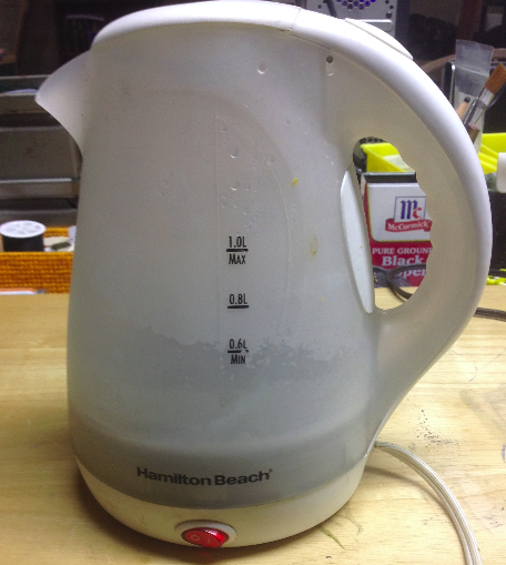 Electric Kettle Repair   Project Blog